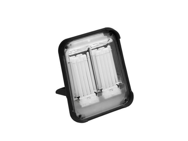 Lampa warsztatowa z kablem TAURUS 72W IP54 z gniaz.schuko z wył.szybkoz. Lena Lighting