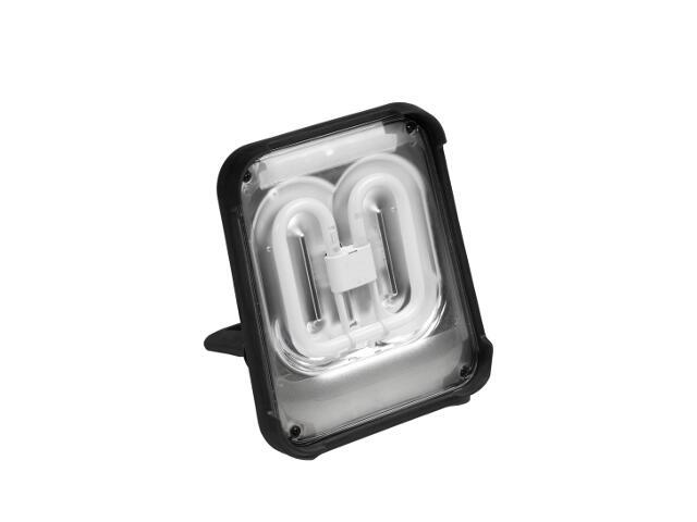 Lampa warsztatowa z kablem TAURUS 55W IP54 z gniazdami schuko szybkoz. Lena Lighting