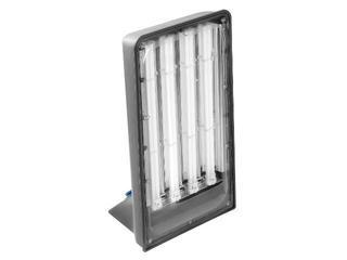 Lampa warsztatowa z kablem GIANT 4x55W 230V z gniazdem schuko Lena Lighting