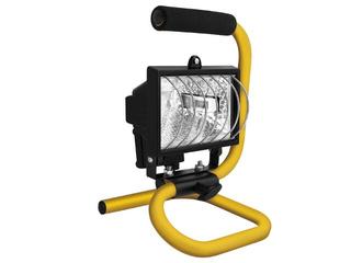 Lampa warsztatowa z kablem HPP 150W czarna SMART4light
