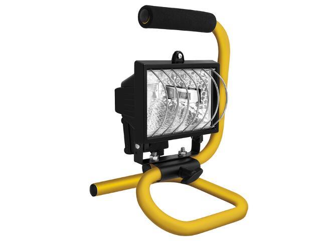 Lampa warsztatowa z kablem HPP 500W czarna SMART4light