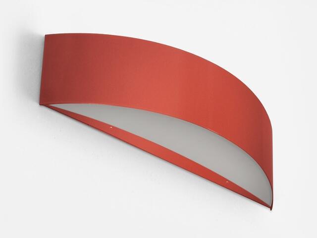Kinkiet CARINA 40 czerwony matowy 1158K1111. Cleoni