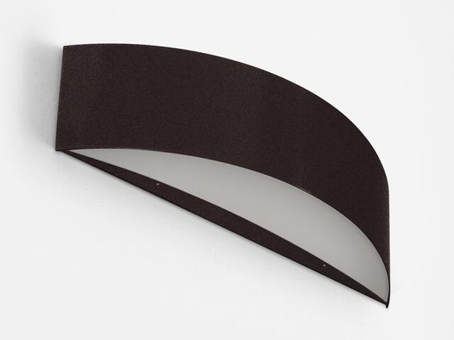 Kinkiet CARINA 50 czarny matowy brokat 1158K2105. Cleoni