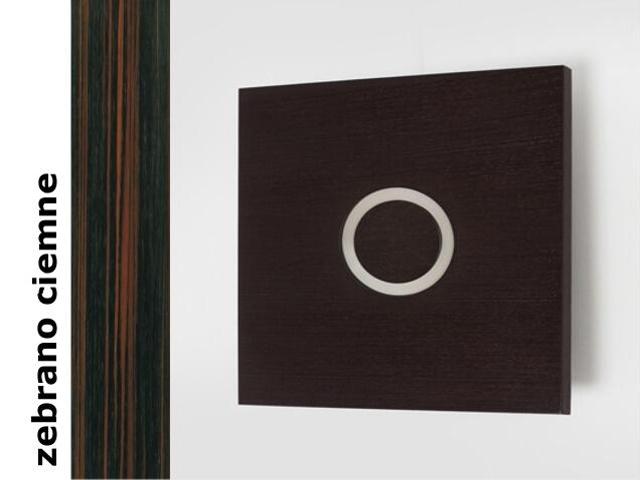 Kinkiet OBRAZ OKO symetryczne duży zebrano ciemne 3200D206. Cleoni