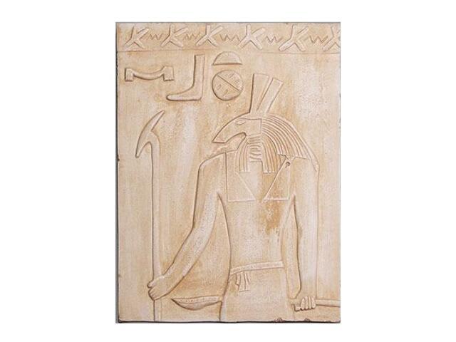 Kinkiet PŁASKORZEŹBA EGIPT P6 niepodświetlony piaskowy Cleoni