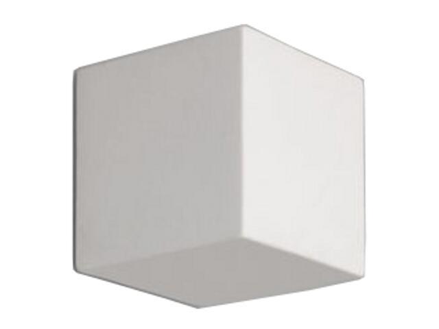 Kinkiet KUBIK pełny G9 biały 1038D Cleoni