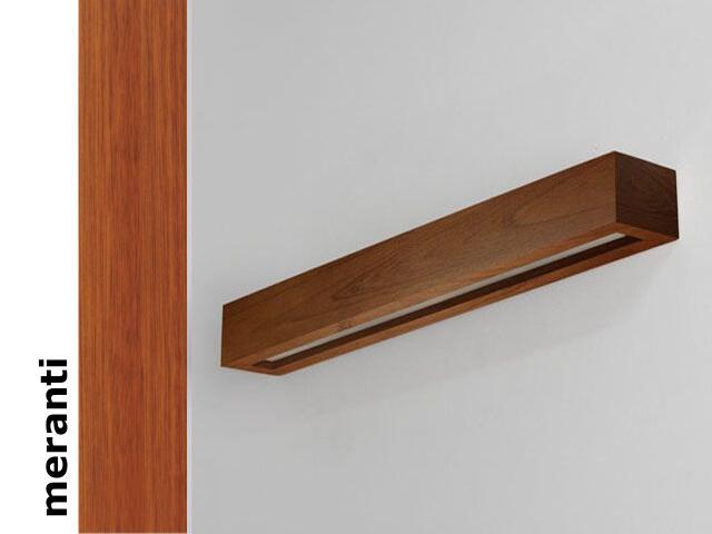 Kinkiet CASPE 80 szkło dolne meranti 8804C203 Cleoni