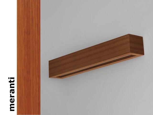 Kinkiet CASPE 70 szkło dolne meranti 8806C203 Cleoni