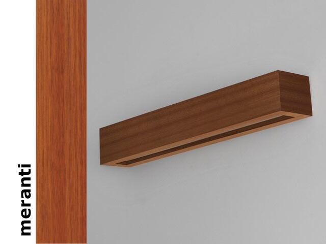 Kinkiet CASPE 70 szkło dolne meranti 8806D203 Cleoni