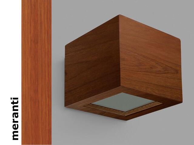 Kinkiet CASPE 12 szkło dolne meranti 8816H203 Cleoni