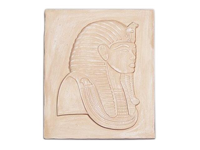 Kinkiet PŁASKORZEŹBA EGIPT P2 niepodświetlony piaskowy Cleoni
