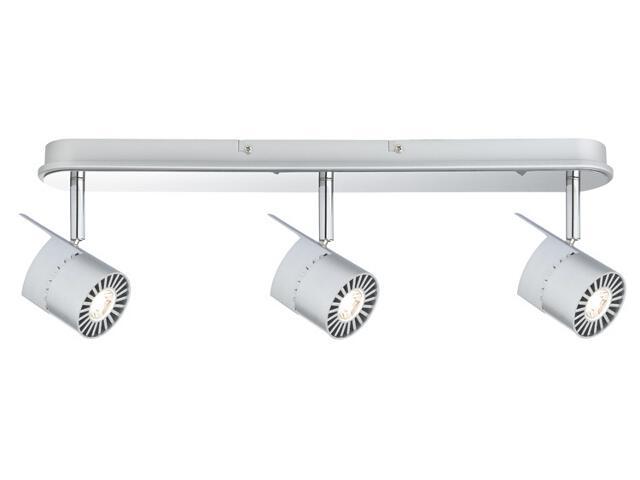 Kinkiet LED Power listwa 3x10W chrom matowy Paulmann