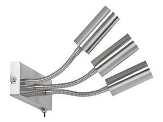 Kinkiet Combi max.3x60W E27 żelazo satynowe Paulmann
