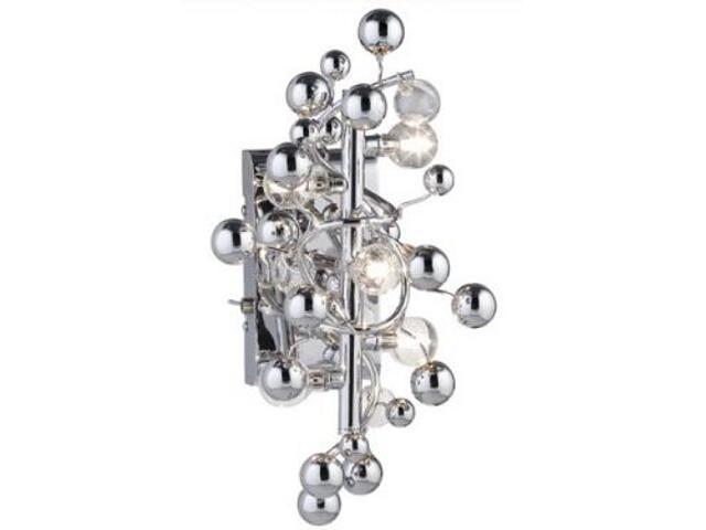Kinkiet Sfera 5x10W G4 srebrny Paulmann
