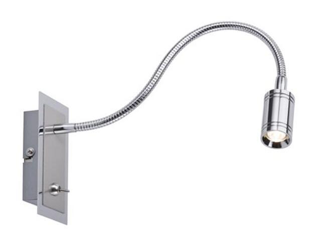 Kinkiet Zylindro LED Flex z włącznikiem 1x3W srebrny Paulmann