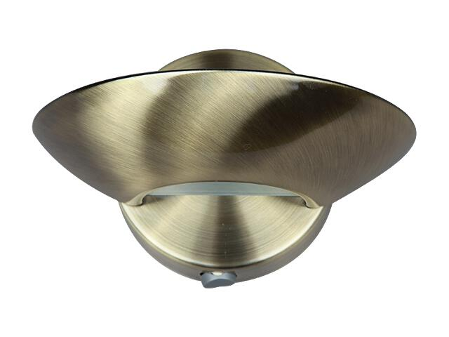 Kinkiet Wall lamp 1xR7S 60W 2543019 złoty Spot-light