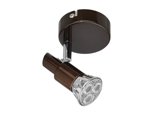 Kinkiet Xena 1xGU10 3xLED 4,2W 2890011 brązowy Spot-light