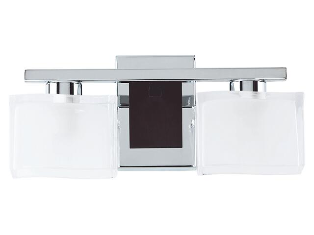 Kinkiet TONI 2xE14 40W 13876 biały, srebrny Alfa