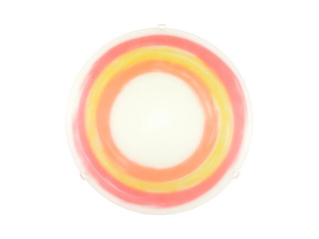 Kinkiet SUN 2xE27 60W 90865 czerwony, żółty Alfa