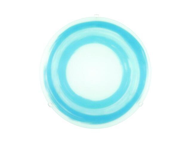 Kinkiet SUN 2xE27 60W 90866 biały, niebieski Alfa