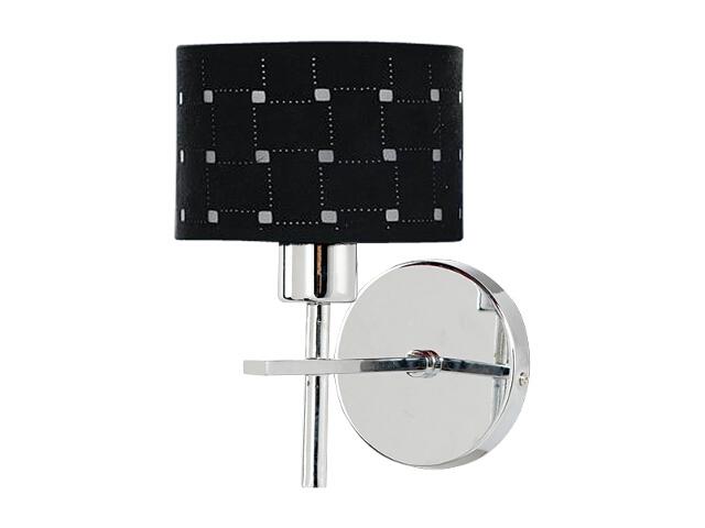 Kinkiet Remon 1xE27 60W 5097128 czarny, srebrny Spot-light
