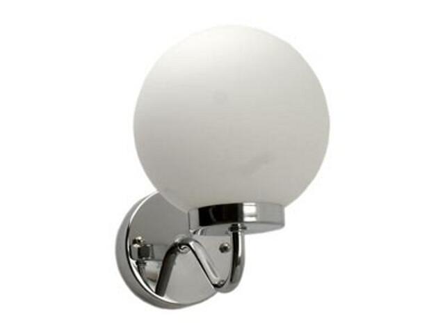 Kinkiet łazienkowy DELA 40W E14 AJ 1021 srebrny ANS