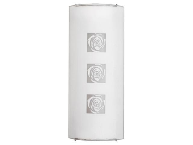 Kinkiet ROSE 2 1106 biały, srebrny Nowodvorski