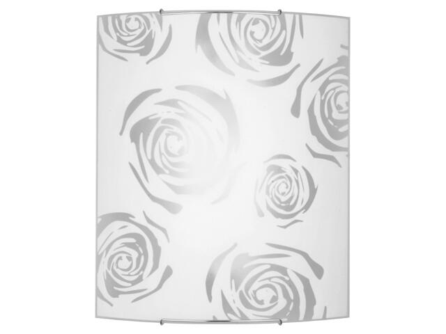 Kinkiet ROSE 6 1108 biały, srebrny Nowodvorski