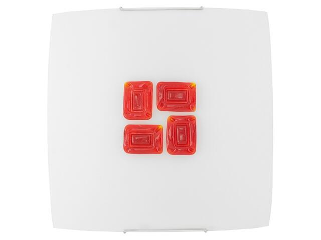 Kinkiet KIKA 8 czerwony 1493 Nowodvorski