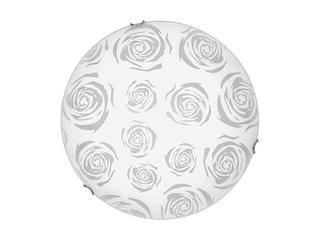 Kinkiet ROSE 10 1881 biały, srebrny Nowodvorski