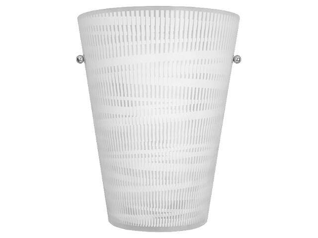 Kinkiet CONO op-art S 2302 biały Nowodvorski
