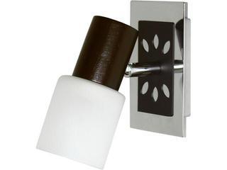 Kinkiet MALAGA I 3077 biały, brązowy Nowodvorski