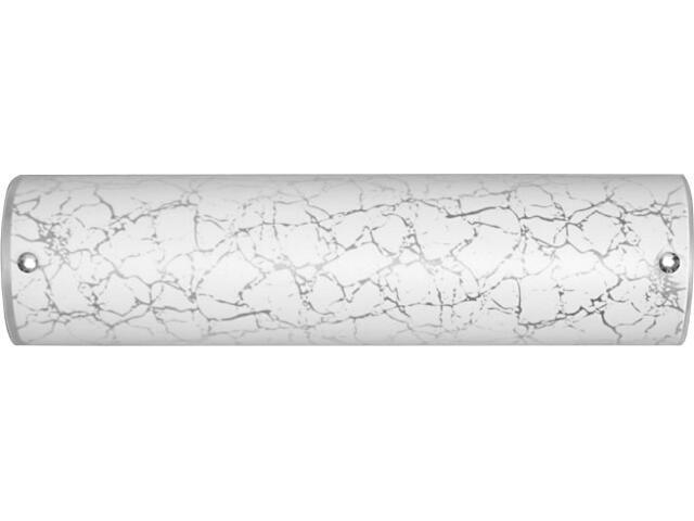 Kinkiet CANALINA biały, srebrny B 3503 Nowodvorski