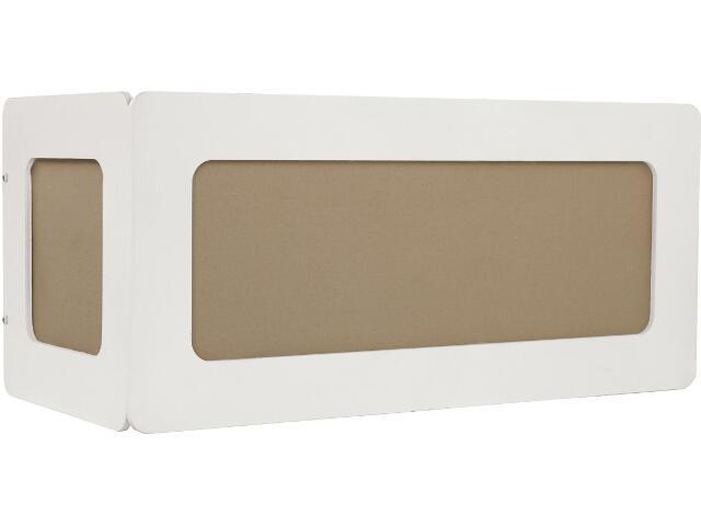 Kinkiet ART DECO II 3540 biały, brązowy Nowodvorski