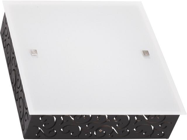 Kinkiet biały, czarnyTUNIS square S 3818 Nowodvorski