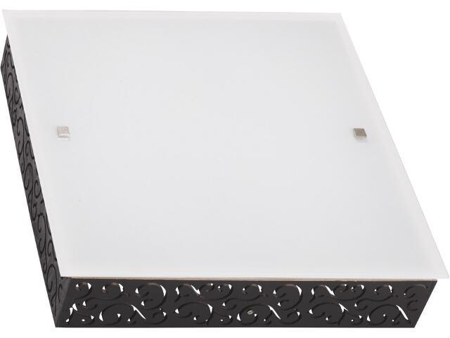 Kinkiet TUNIS square M 3820 biały, czarny Nowodvorski
