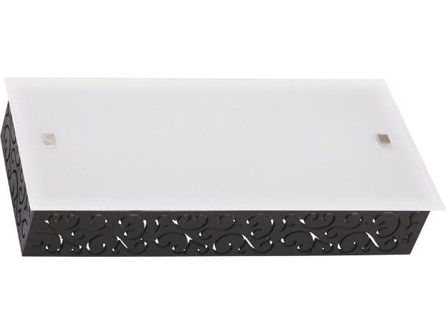 Kinkiet TUNIS M 3823 biały, czarny Nowodvorski