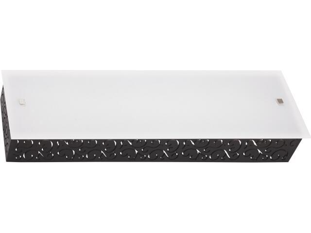 Kinkiet TUNIS L 3824 biały, czarny Nowodvorski