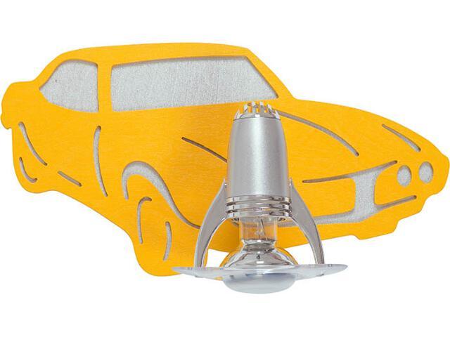 Kinkiet AUTO I żółty 4051 Nowodvorski