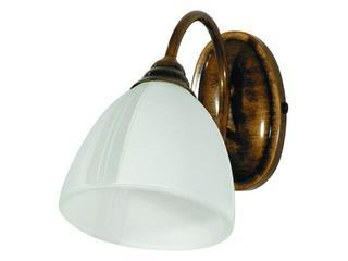 Kinkiet RYBKA 1xE27 60W 401C biały, brązowy Aldex