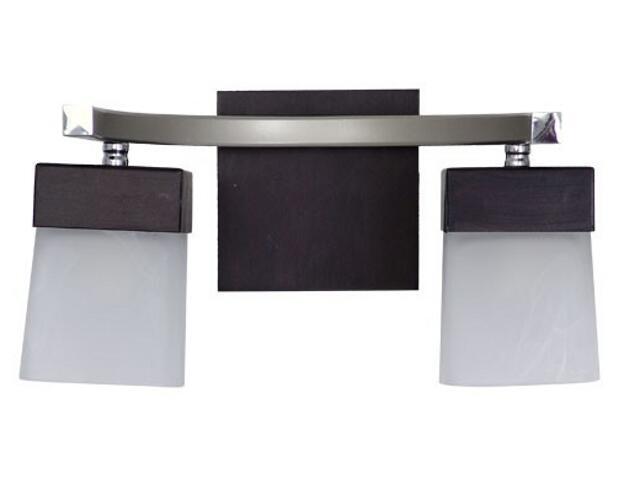 Kinkiet HANNA 2xE14 40W 471D biały, czarny Aldex