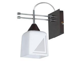 Kinkiet LEON 1xE14 40W 505C biały, brązowy Aldex