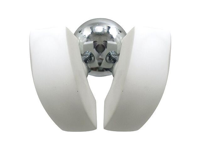 Kinkiet ROLLO 2xG9 40W 537D srebrny Aldex