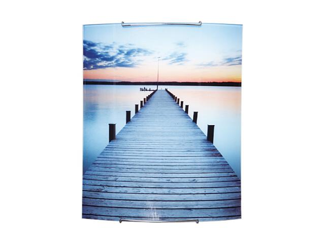 Kinkiet szklany Skyline 2xE27 60W 1804040 wielokolorowy Spot-light