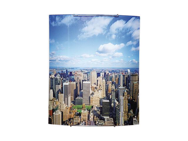 Kinkiet szklany Town 2xE27 60W 1800040 wielokolorowy Spot-light