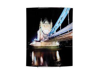 Kinkiet szklany Town 2xE27 60W 1802040 wielokolorowy Spot-light