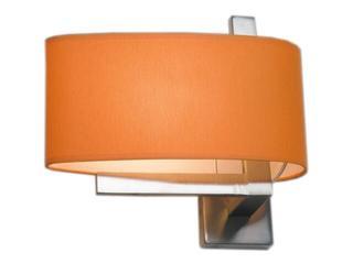 Kinkiet KINGSTON3 1x40W E14 nikiel / pomarańczowy Sanneli Design