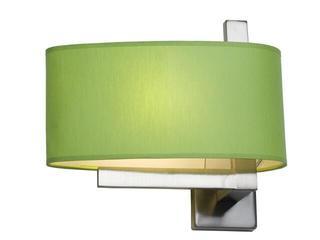 Kinkiet KINGSTON2 1x40W E14 nikiel / zielony Sanneli Design
