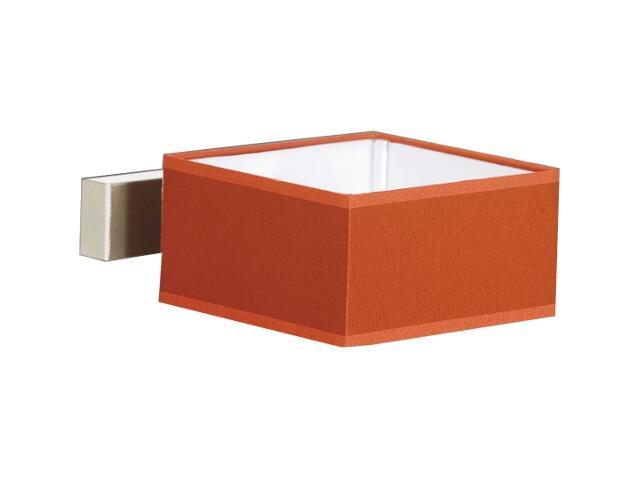 Kinkiet Lima2 1x40W E14 satyna / czerwony Sanneli Design