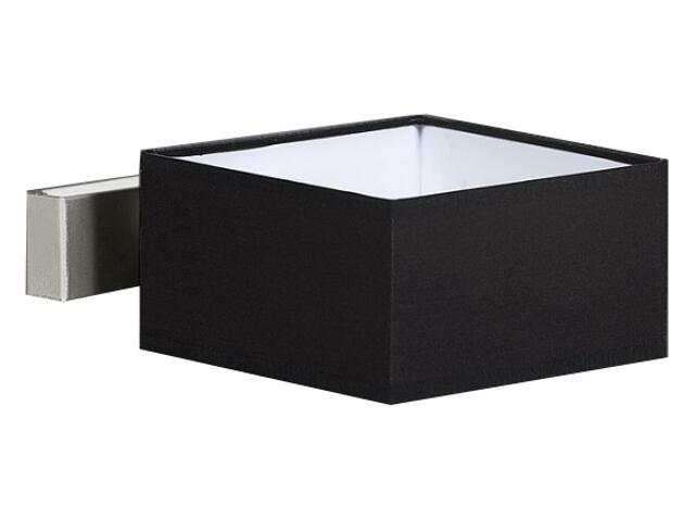 Kinkiet Lima3 1x40W E14 satyna / czarny Sanneli Design